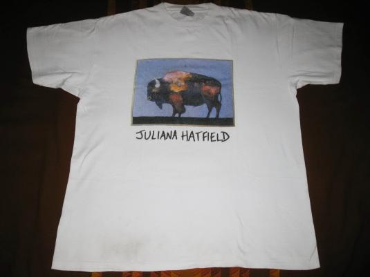 1995 JULIANA HATFIELD ONLY EVERYTHING VINTAGE T-SHIRT