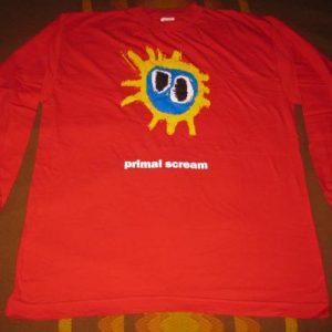 1991 PRIMAL SCREAM SCREAMADELICA VINTAGE T-SHIRT
