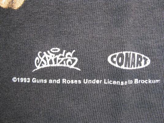 1993 GUNS N' ROSES LIVE?! LIKE A SUICIDE VINTAGE T-SHIRT