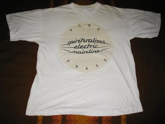 1995 SPIRITUALIZED PURE PHASE VINTAGE T-SHIRT SPACEMEN 3