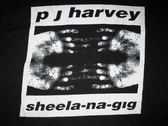 1992 PJ HARVEY SHEELA-NA-GIG VINTAGE T-SHIRT