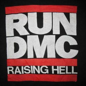 1986 RUN DMC RAISING HELL VINTAGE SWEATSHIRT HIP HOP
