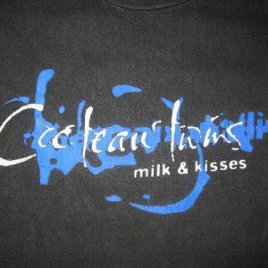 1996 COCTEAU TWINS MILK & KISSES VINTAGE T-SHIRT DOUBLE SIDE