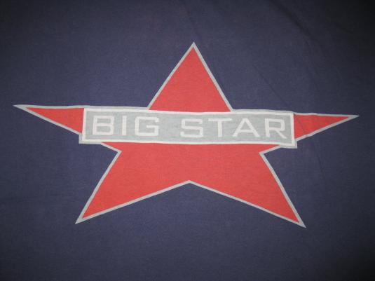 1993 BIG STAR COLUMBIA VINTAGE T-SHIRT ALEX CHILTON