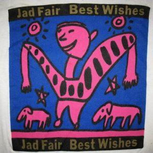1985 JAD FAIR BEST WISHES VINTAGE T-SHIRT HALF JAPANESE