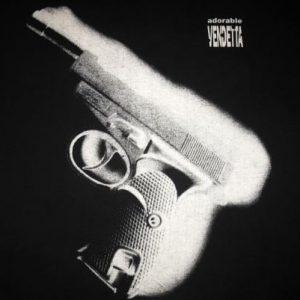 1994 ADORABLE VENDETTA VINTAGE T-SHIRT CREATION RECORDS