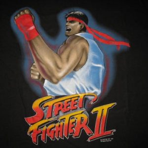 1991 STREET FIGHTER II VINTAGE T-SHIRT RYU CAPCOM