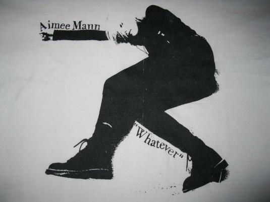 1993 AIMEE MANN WHATEVER TOUR VINTAGE T-SHIRT TIL TUESDAY