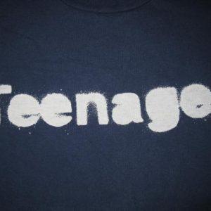 1993 TEENAGE FANCLUB TEENAGER VINTAGE T-SHIRT CREATION RECS