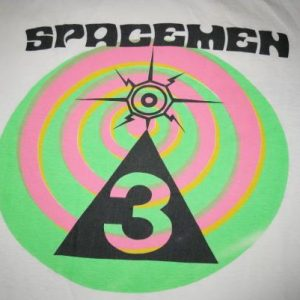 1989 SPACEMEN 3 FOR ALL FUCKED UP CHILDREN VINTAGE T-SHIRT