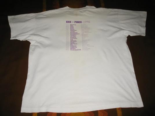 1996 IMMACULATE FOOLS KISS AND PUNCH VINTAGE T-SHIRT