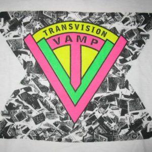 1987 TRANSVISION VAMP REVOLUTION BABY VINTAGE T-SHIRT