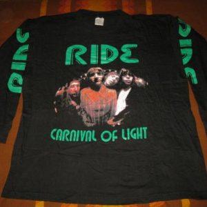 1994 RIDE CARNIVAL OF LIGHT VINTAGE LONG SLEEVE T-SHIRT