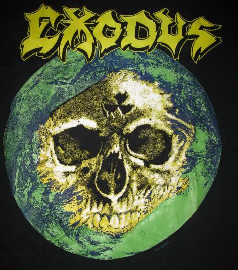 1988 EXODUS FABULOUS DISASTER VINTAGE T-SHIRT