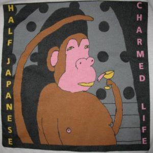 1988 HALF JAPANESE CHARMED LIFE VINTAGE T-SHIRT JAD FAIR