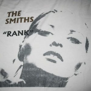 1988 THE SMITHS RANK VINTAGE T-SHIRT MORRISSEY