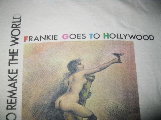 1985 FRANKIE GOES TO HOLLYWOOD PLEASUREDOME VINTAGE T-SHIRT