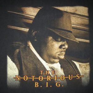 1997 NOTORIOUS B.I.G. POPPA VINTAGE T-SHIRT HIP HOP