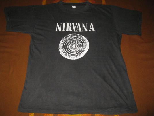 1989 NIRVANA VESTIBULE SUB POP VINTAGE T-SHIRT