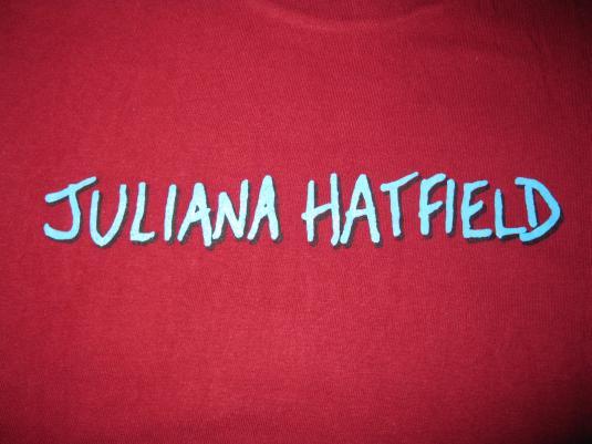 90s JULIANA HATFIELD UGLY VINTAGE T-SHIRT