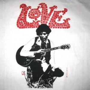 80s LOVE ARTHUR LEE VINTAGE T-SHIRT FOREVER CHANGES