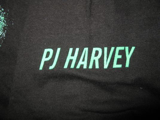 1995 PJ HARVEY DOWN BY THE WATER VINTAGE T-SHIRT