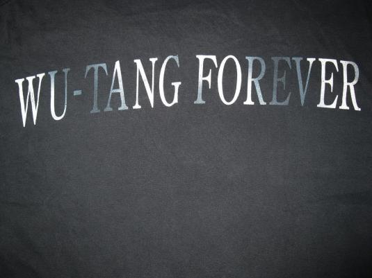 1998 WU TANG CLAN – WU TANG FOREVER VINTAGE T-SHIRT HIP HOP