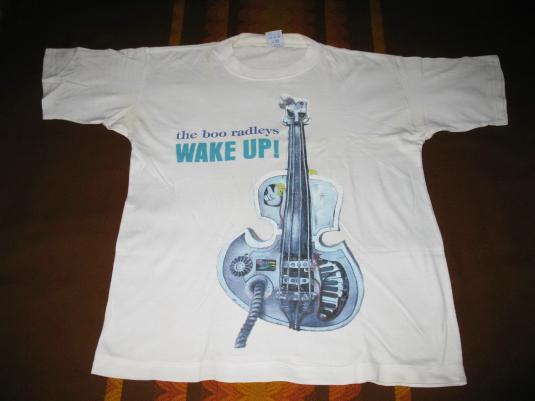 1995 THE BOO RADLEYS WAKE UP VINTAGE T-SHIRT SHOEGAZE