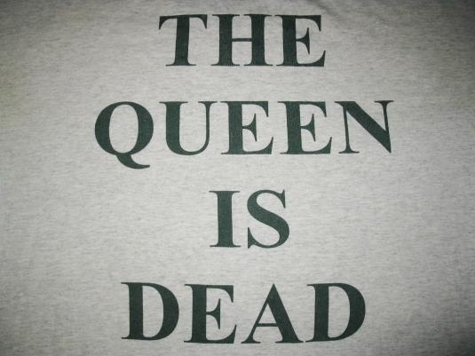 THE SMITHS QUEEN IS DEAD VINTAGE T-SHIRT MORRISSEY