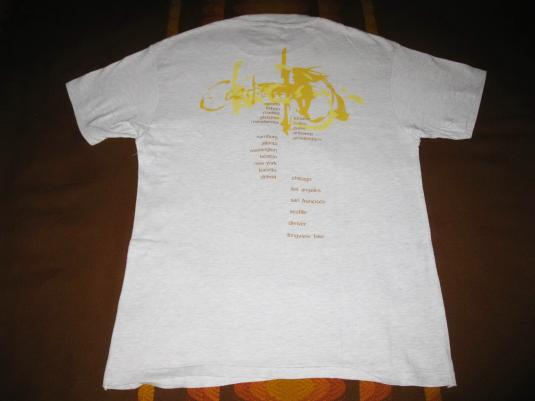 1996 COCTEAU TWINS MILK & KISSES TOUR VTG TEE SHOEGAZE 4AD