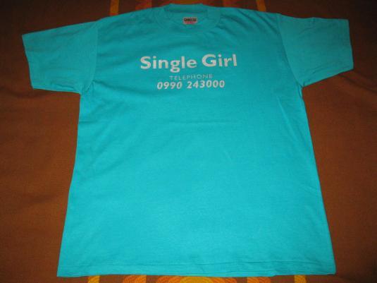 1996 LUSH SINGLE GIRL VINTAGE T-SHIRT SHOEGAZE 4AD
