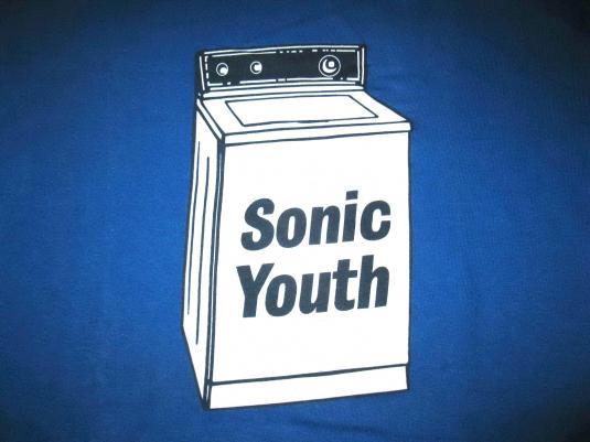 1995 SONIC YOUTH WASHING MACHINE VINTAGE T-SHIRT
