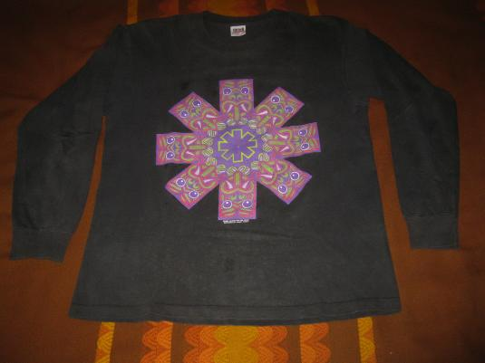 1992 RED HOT CHILI PEPPERS TRIBAL LS VINTAGE T-SHIRT RHCP