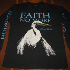 1992 FAITH NO MORE ANGEL DUST LONG SLEEVE VINTAGE T-SHIRT