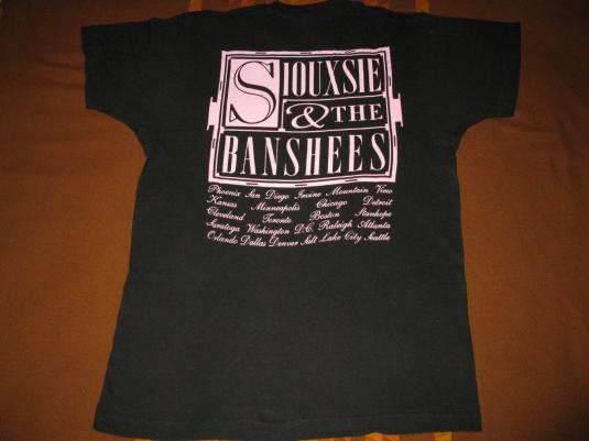 1991 SIOUXSIE & THE BANSHEES – SUPERSTITION – VINTAGE TSHIRT