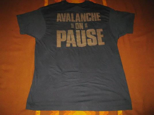 1988 GODFLESH AVALANCHE ON PAUSE VINTAGE T-SHIRT