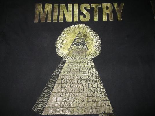1992 MINISTRY N.W.O. LONG SLEEVE VINTAGE T-SHIRT