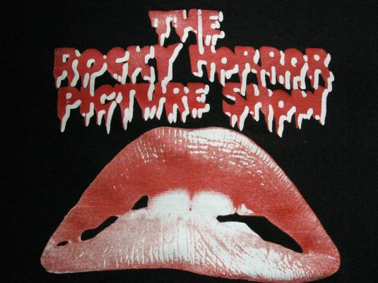 90s THE ROCKY HORROR PICTURE SHOW VINTAGE T-SHIRT CULT MOVIE