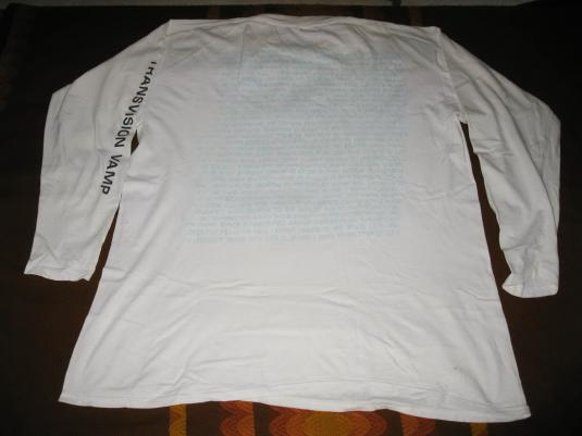 1989 TRANSVISION VAMP BORN TO BE SOLD VINTAGE T-SHIRT