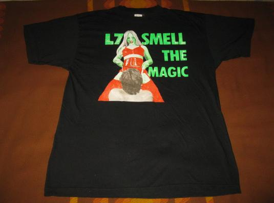 1990 L7 SMELL THE MAGIC VINTAGE T-SHIRT PUNK GRUNGE SUB POP