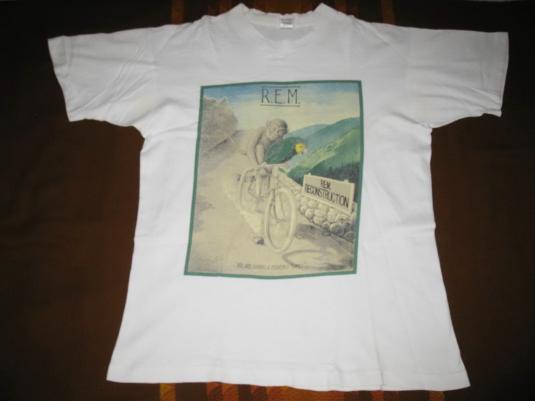 1985 R.E.M. RECONSTRUCTION TOUR VINTAGE T-SHIRT REM