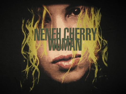 1996 NENEH CHERRY WOMAN VINTAGE T-SHIRT