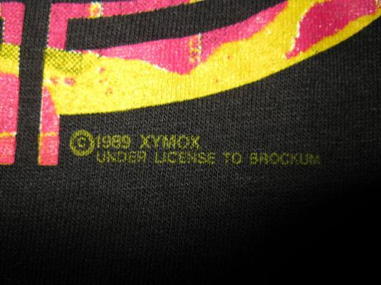 1989 XYMOX TWIST OF SHADOWS VINTAGE T-SHIRT 4AD GOTH