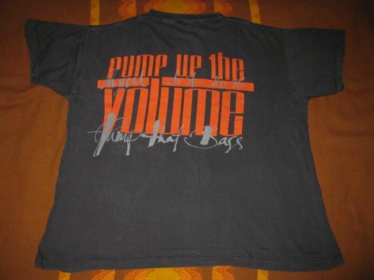 1987 M.A.R.R.S. – PUMP UP THE VOLUME – VINTAGE T-SHIRT 4AD