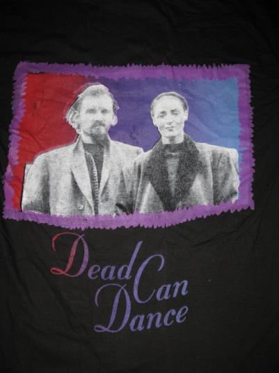 1993 DEAD CAN DANCE VINTAGE TSHIRT GOTH 4AD