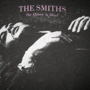 1986 THE SMITHS THE QUEEN IS DEAD VINTAGE T-SHIRT MORRISSEY
