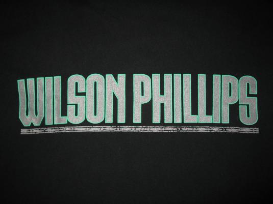 1990 WILSON PHILLIPS VINTAGE T-SHIRT BEACH BOYS MAMAS PAPAS