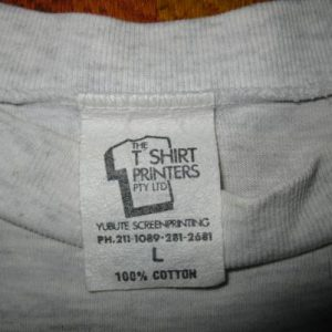 1994 SMUDGE NOT HERE FOR A HAIRCUT VINTAGE TSHIRT LEMONHEADS