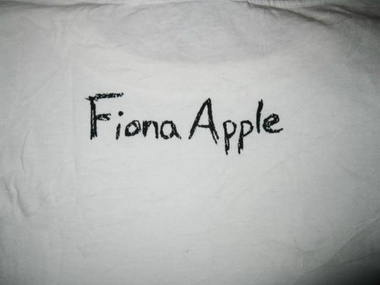 1999 FIONA APPLE FAST AS YOU CAN VINTAGE T-SHIRT