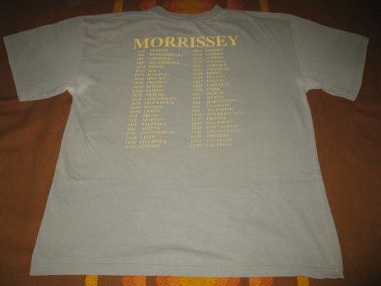 1999 MORRISSEY OYE ESTEBAN TOUR VINTAGE T-SHIRT
